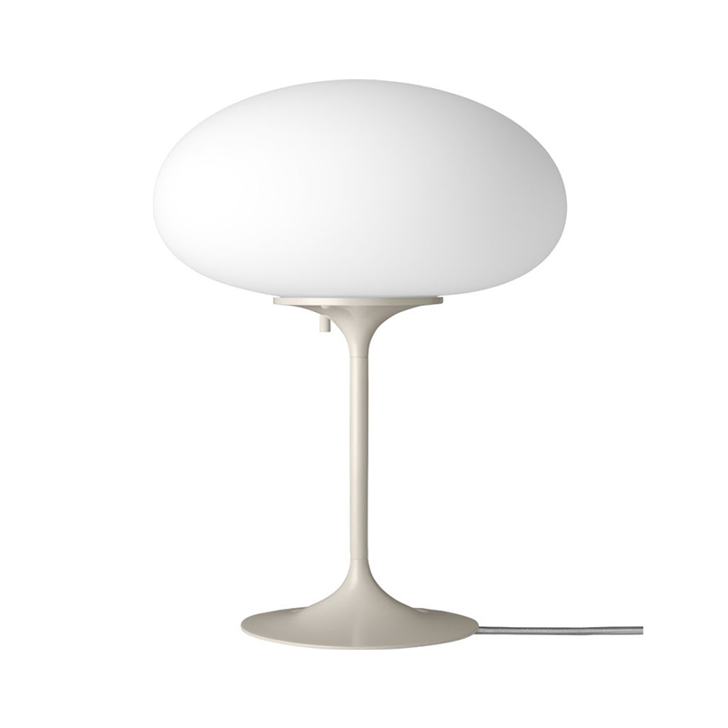 Gubi_Stemlite_Table_Lamp_by_Bill_Curry_42cm_Pebble_Grey_Off Olson and Baker - Designer & Contemporary Sofas, Furniture - Olson and Baker showcases original designs from authentic, designer brands. Buy contemporary furniture, lighting, storage, sofas & chairs at Olson + Baker.