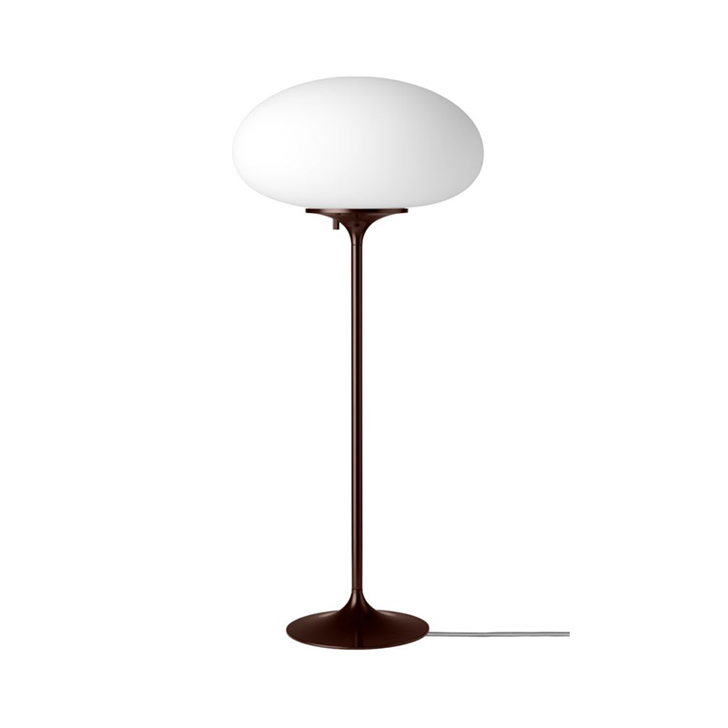 Gubi_Stemlite_Table_Lamp_by_Bill_Curry_70cm_Black_Red_Off Olson and Baker - Designer & Contemporary Sofas, Furniture - Olson and Baker showcases original designs from authentic, designer brands. Buy contemporary furniture, lighting, storage, sofas & chairs at Olson + Baker.
