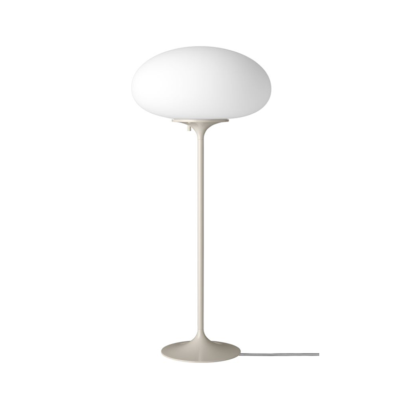 Gubi_Stemlite_Table_Lamp_by_Bill_Curry_70cm_Pebble_Grey_Off Olson and Baker - Designer & Contemporary Sofas, Furniture - Olson and Baker showcases original designs from authentic, designer brands. Buy contemporary furniture, lighting, storage, sofas & chairs at Olson + Baker.