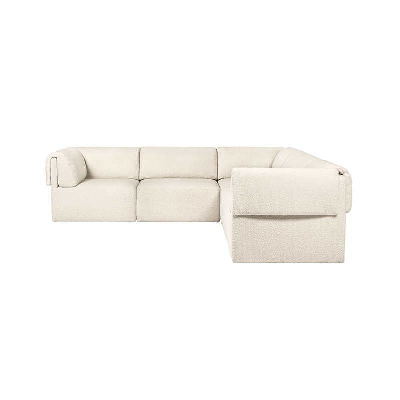 Gubi Wonder Modular Sofa by Space Copenhagen Olson and Baker - Designer & Contemporary Sofas, Furniture - Olson and Baker showcases original designs from authentic, designer brands. Buy contemporary furniture, lighting, storage, sofas & chairs at Olson + Baker.