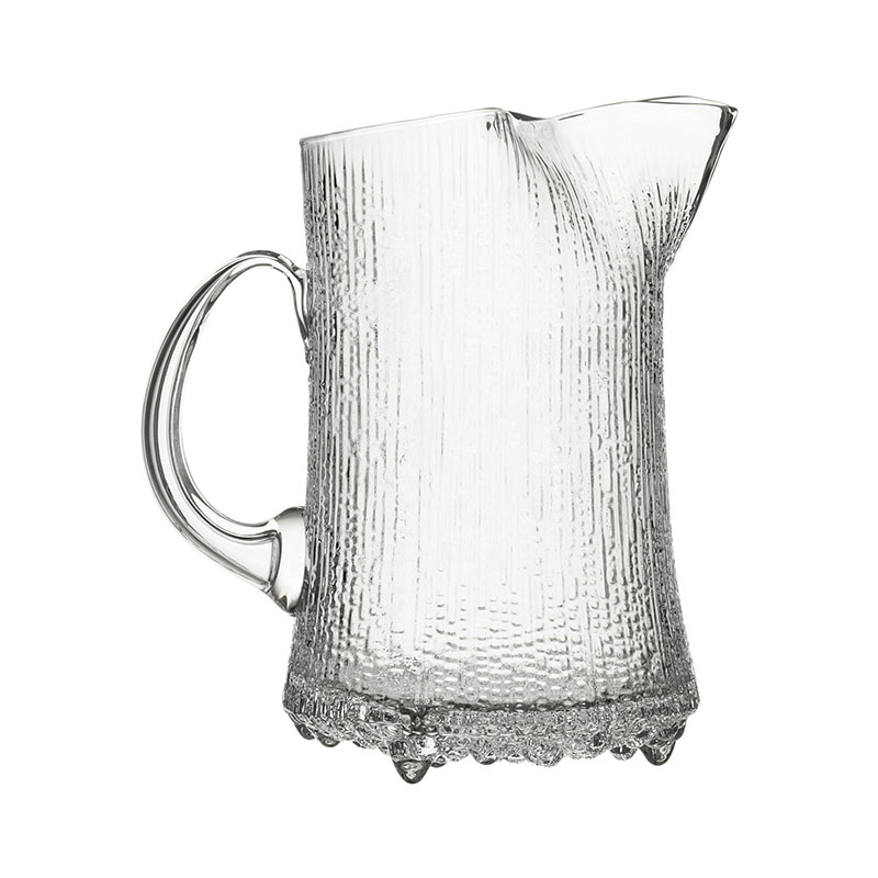 Iittala Ultima Thule 1.5L Pitcher – Set of Two by Tapio Wirkkala Olson and Baker - Designer & Contemporary Sofas, Furniture - Olson and Baker showcases original designs from authentic, designer brands. Buy contemporary furniture, lighting, storage, sofas & chairs at Olson + Baker.