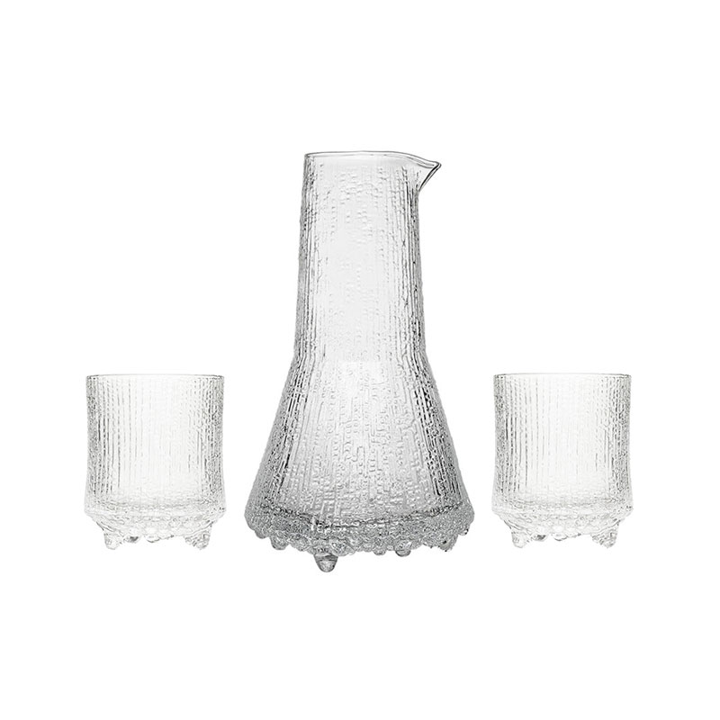 Iittala Ultima Thule 50cl Pitcher and 20cl O.F. by Tapio Wirkkala Olson and Baker - Designer & Contemporary Sofas, Furniture - Olson and Baker showcases original designs from authentic, designer brands. Buy contemporary furniture, lighting, storage, sofas & chairs at Olson + Baker.
