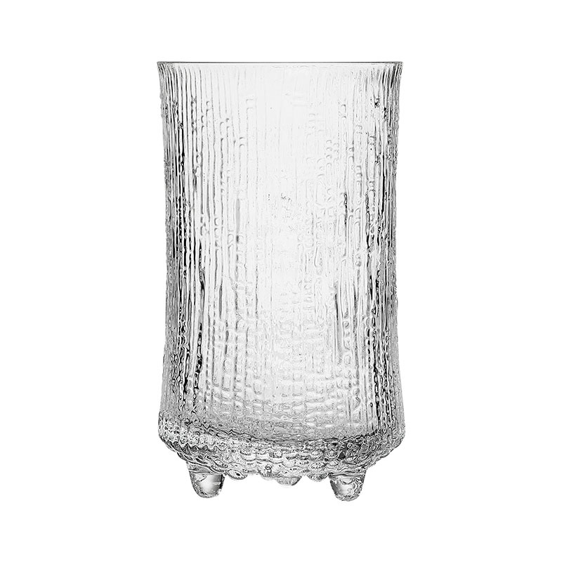 Iittala Ultima Thule 600ml Beer Glass – Set of Six by Tapio Wirkkala Olson and Baker - Designer & Contemporary Sofas, Furniture - Olson and Baker showcases original designs from authentic, designer brands. Buy contemporary furniture, lighting, storage, sofas & chairs at Olson + Baker.
