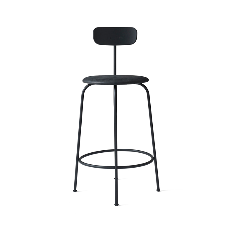 Menu Afteroom Counter Stool with Upholstered Seat by Afteroom Olson and Baker - Designer & Contemporary Sofas, Furniture - Olson and Baker showcases original designs from authentic, designer brands. Buy contemporary furniture, lighting, storage, sofas & chairs at Olson + Baker.