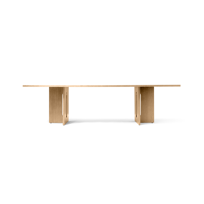 Menu Androgyne 280x110cm Rectangular Dining Table by Danielle Siggerud Olson and Baker - Designer & Contemporary Sofas, Furniture - Olson and Baker showcases original designs from authentic, designer brands. Buy contemporary furniture, lighting, storage, sofas & chairs at Olson + Baker.