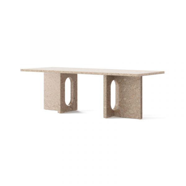 Androgyne Coffee Table in Kunis Breccia Stone