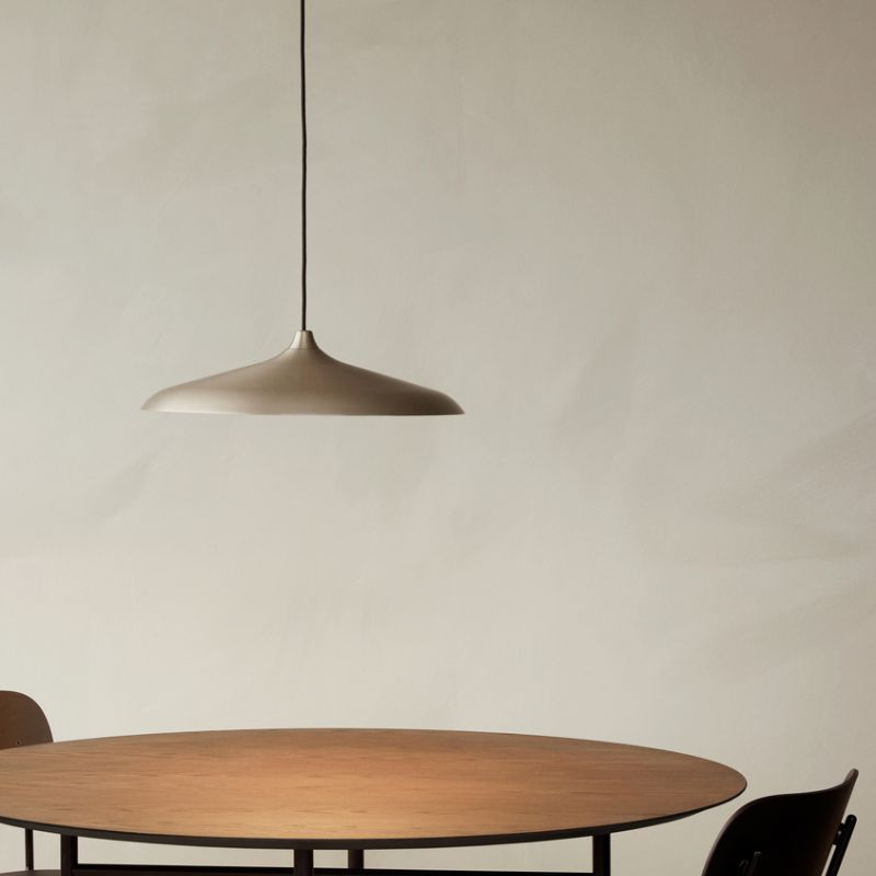 Menu-Circular_Pendant-by-StudioWM-Lifeshot-01 Olson and Baker - Designer & Contemporary Sofas, Furniture - Olson and Baker showcases original designs from authentic, designer brands. Buy contemporary furniture, lighting, storage, sofas & chairs at Olson + Baker.