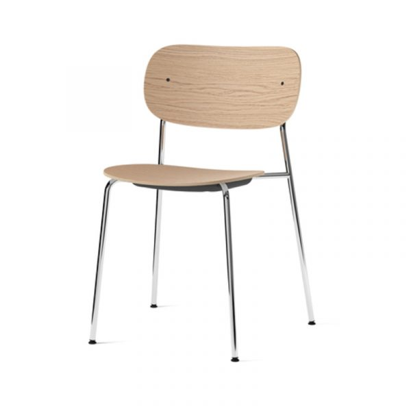 Co Dining Chair with Chrome Base - Set of Two