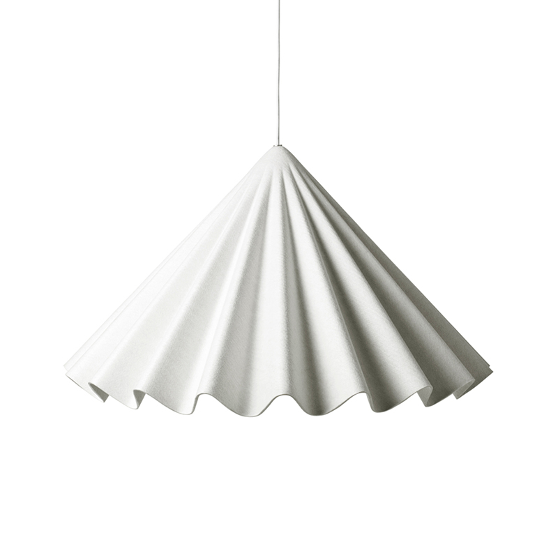 Menu Dancing Pendant Light Lamp in Off-White by Iskos-Berlin Olson and Baker - Designer & Contemporary Sofas, Furniture - Olson and Baker showcases original designs from authentic, designer brands. Buy contemporary furniture, lighting, storage, sofas & chairs at Olson + Baker.