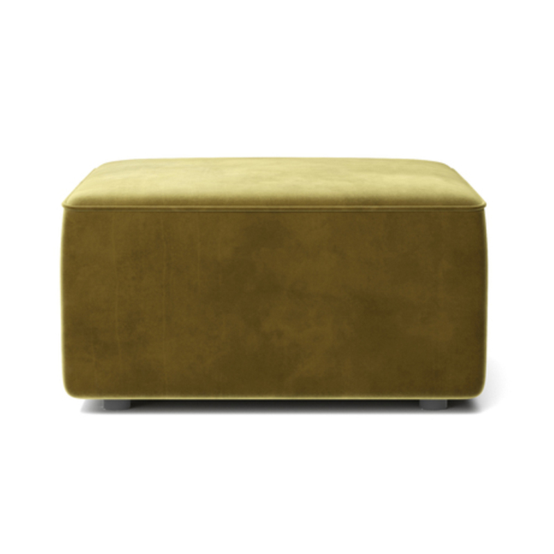 Menu Eave Small Pouf by Norm Architects Olson and Baker - Designer & Contemporary Sofas, Furniture - Olson and Baker showcases original designs from authentic, designer brands. Buy contemporary furniture, lighting, storage, sofas & chairs at Olson + Baker.