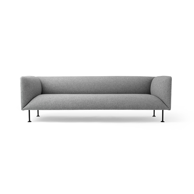 Menu Godot Three Seat Sofa by Iskos-Berlin Olson and Baker - Designer & Contemporary Sofas, Furniture - Olson and Baker showcases original designs from authentic, designer brands. Buy contemporary furniture, lighting, storage, sofas & chairs at Olson + Baker.