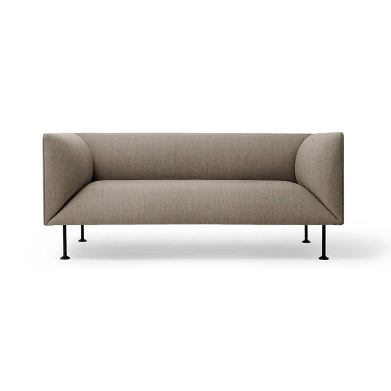 Menu Godot Two Seat Sofa by Iskos-Berlin Olson and Baker - Designer & Contemporary Sofas, Furniture - Olson and Baker showcases original designs from authentic, designer brands. Buy contemporary furniture, lighting, storage, sofas & chairs at Olson + Baker.