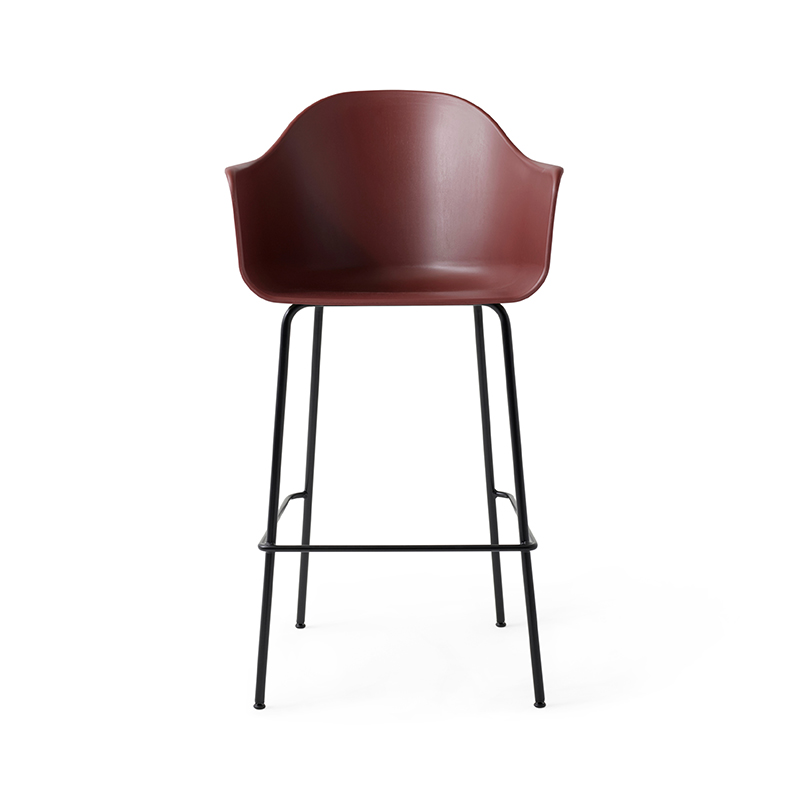Menu Harbour High Bar Stool by Norm Architects Olson and Baker - Designer & Contemporary Sofas, Furniture - Olson and Baker showcases original designs from authentic, designer brands. Buy contemporary furniture, lighting, storage, sofas & chairs at Olson + Baker.