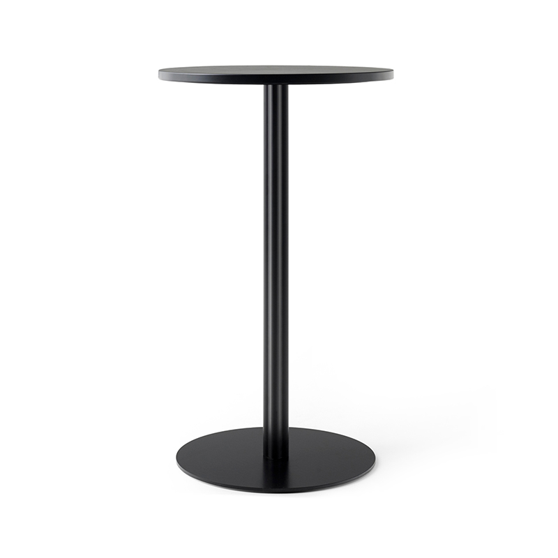 Menu Harbour Column Round Café Table with Pedestal Base by Norm Architects Olson and Baker - Designer & Contemporary Sofas, Furniture - Olson and Baker showcases original designs from authentic, designer brands. Buy contemporary furniture, lighting, storage, sofas & chairs at Olson + Baker.