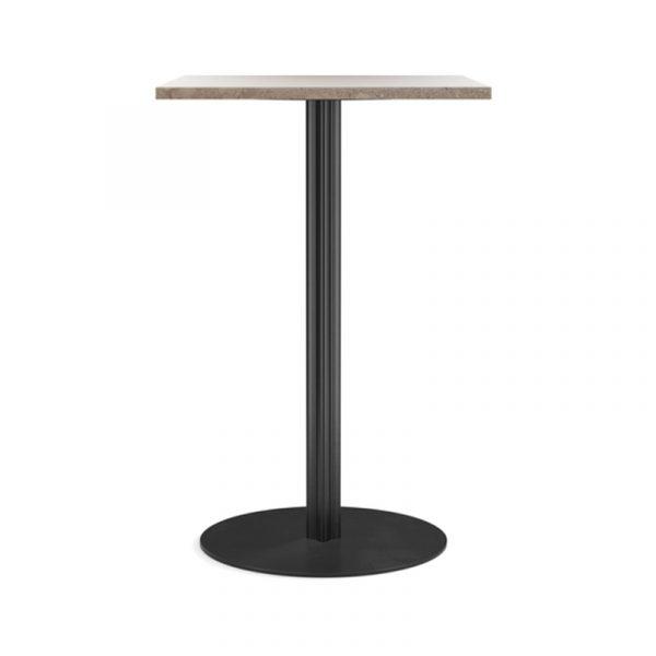 Harbour Column 60x70cm Café Table with Pedestal Base