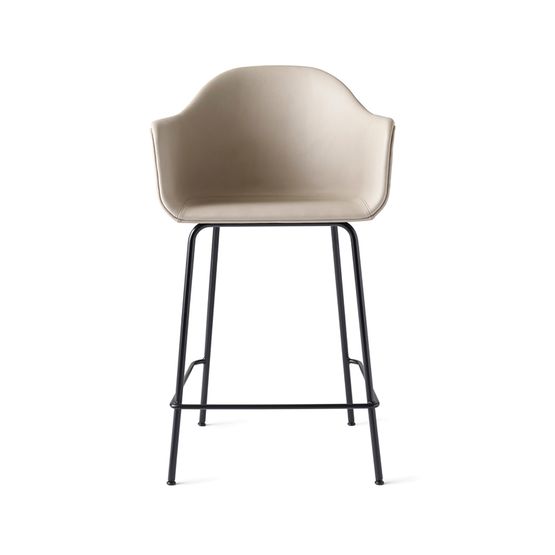 Menu Harbour Fully Upholstered Counter Stool by Norm Architects Olson and Baker - Designer & Contemporary Sofas, Furniture - Olson and Baker showcases original designs from authentic, designer brands. Buy contemporary furniture, lighting, storage, sofas & chairs at Olson + Baker.