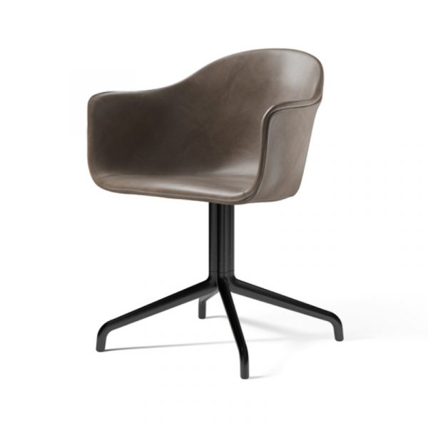 Harbour Fully Upholstered Chair with Swivel Four Star Base