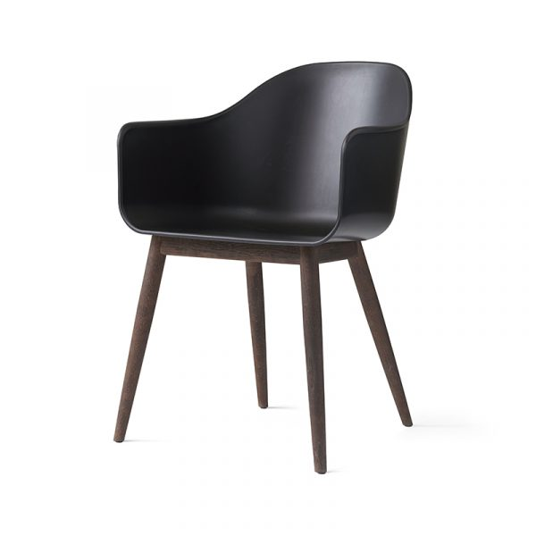 Harbour Dining Chair with Wooden Base