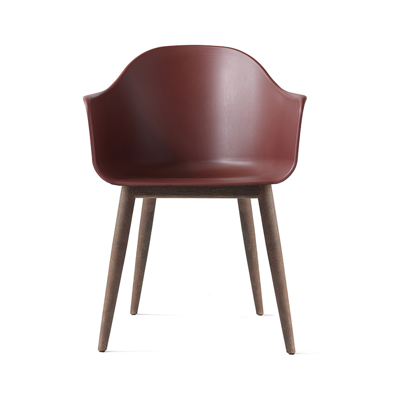 Menu Harbour Dining Chair with Wooden Base by Norm Architects Olson and Baker - Designer & Contemporary Sofas, Furniture - Olson and Baker showcases original designs from authentic, designer brands. Buy contemporary furniture, lighting, storage, sofas & chairs at Olson + Baker.
