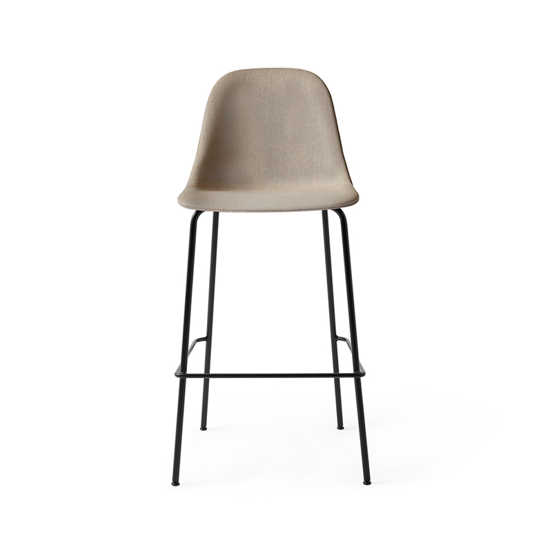 Menu Harbour Fully Upholstered High Bar Side Stool by Norm Architects Olson and Baker - Designer & Contemporary Sofas, Furniture - Olson and Baker showcases original designs from authentic, designer brands. Buy contemporary furniture, lighting, storage, sofas & chairs at Olson + Baker.