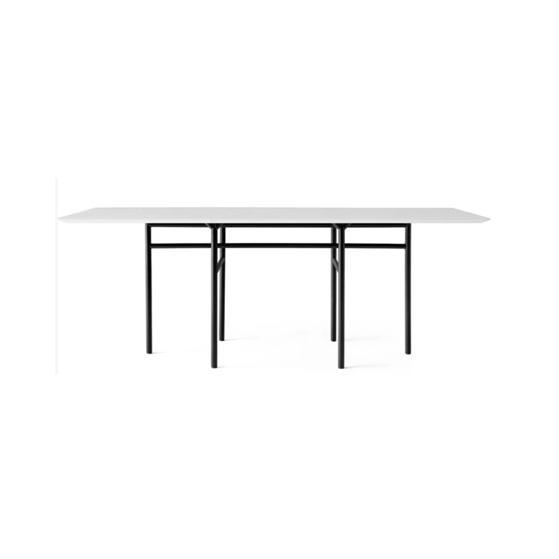 Menu Snaregade 90x200cm Rectangular Dining Table by Norm Architects Olson and Baker - Designer & Contemporary Sofas, Furniture - Olson and Baker showcases original designs from authentic, designer brands. Buy contemporary furniture, lighting, storage, sofas & chairs at Olson + Baker.