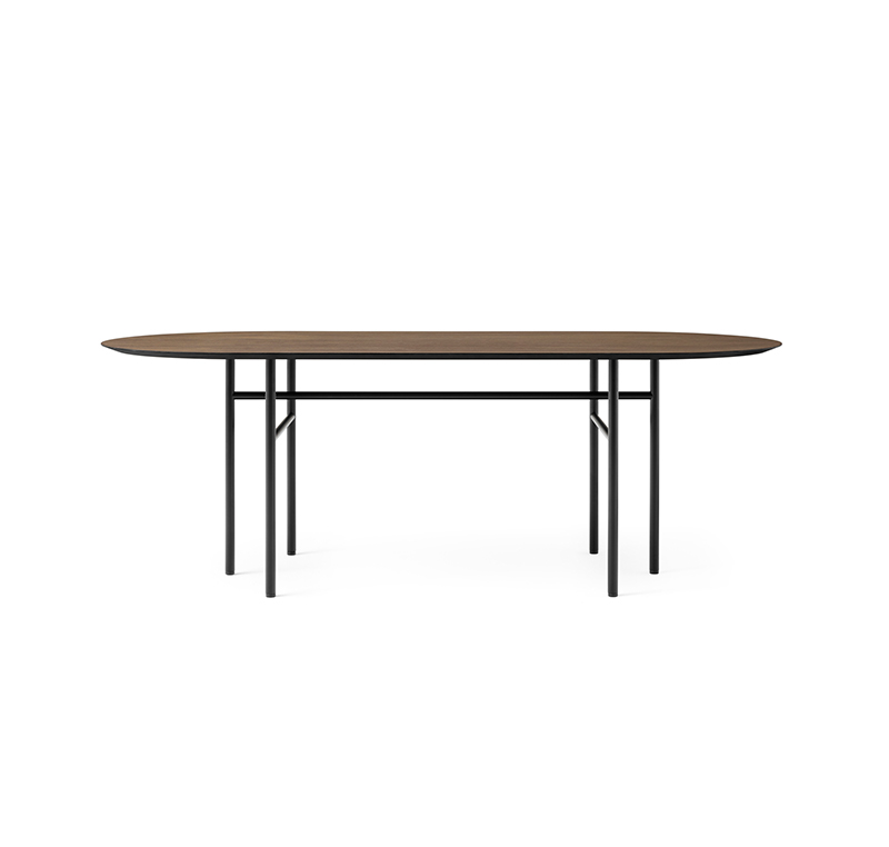 Menu Snaregade Oval Dining Table by Norm Architects Olson and Baker - Designer & Contemporary Sofas, Furniture - Olson and Baker showcases original designs from authentic, designer brands. Buy contemporary furniture, lighting, storage, sofas & chairs at Olson + Baker.