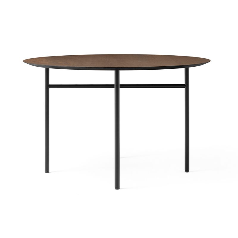 Menu Snaregade Ø120cm Round Dining Table by Norm Architects Olson and Baker - Designer & Contemporary Sofas, Furniture - Olson and Baker showcases original designs from authentic, designer brands. Buy contemporary furniture, lighting, storage, sofas & chairs at Olson + Baker.