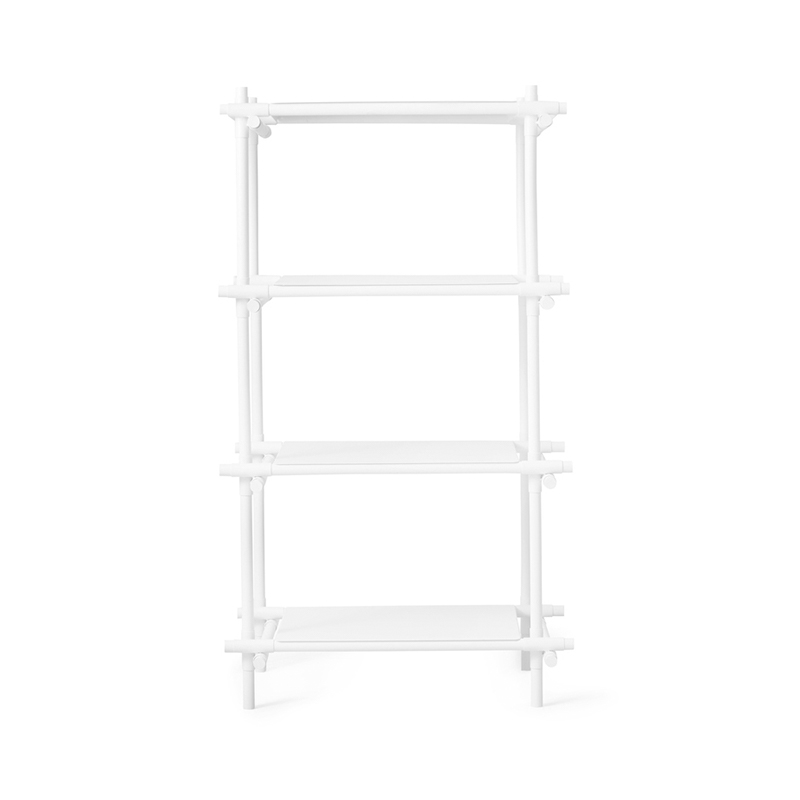 Menu Stick Four Rack Shelving System by Jan & Henry Olson and Baker - Designer & Contemporary Sofas, Furniture - Olson and Baker showcases original designs from authentic, designer brands. Buy contemporary furniture, lighting, storage, sofas & chairs at Olson + Baker.