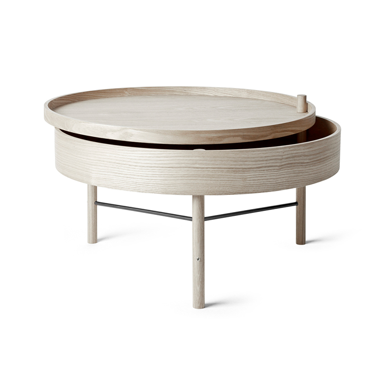Menu Turning Table by Theresa Rand Olson and Baker - Designer & Contemporary Sofas, Furniture - Olson and Baker showcases original designs from authentic, designer brands. Buy contemporary furniture, lighting, storage, sofas & chairs at Olson + Baker.