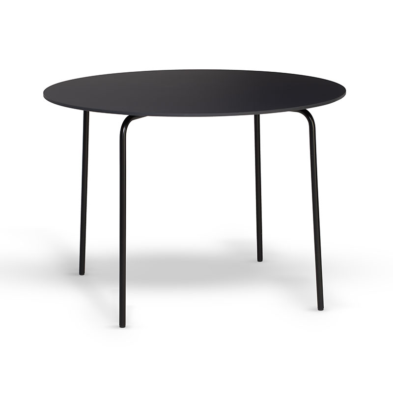 Northern Camp Ø105cm Round Dining Table by Rudi Wulff Olson and Baker - Designer & Contemporary Sofas, Furniture - Olson and Baker showcases original designs from authentic, designer brands. Buy contemporary furniture, lighting, storage, sofas & chairs at Olson + Baker.