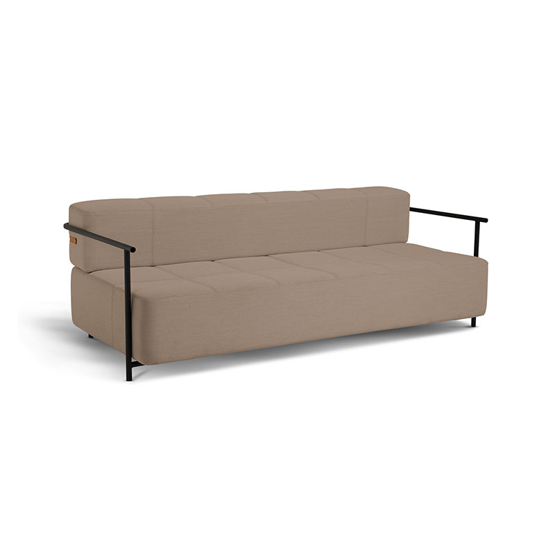 Northern Daybe Three Seat Sofa Bed with Armrests by Morten and Jonas Olson and Baker - Designer & Contemporary Sofas, Furniture - Olson and Baker showcases original designs from authentic, designer brands. Buy contemporary furniture, lighting, storage, sofas & chairs at Olson + Baker.