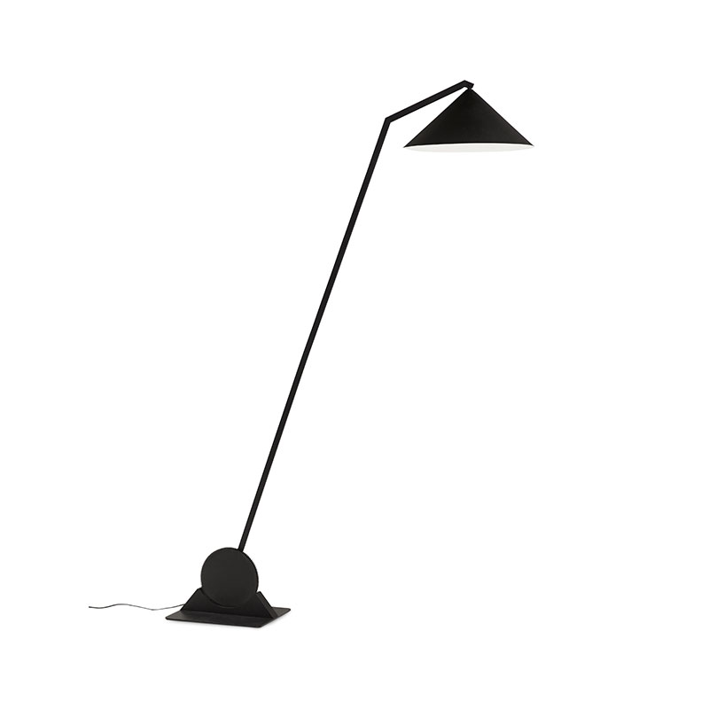 Northern Gear Floor Lamp in Black by Johan Lindstén Olson and Baker - Designer & Contemporary Sofas, Furniture - Olson and Baker showcases original designs from authentic, designer brands. Buy contemporary furniture, lighting, storage, sofas & chairs at Olson + Baker.