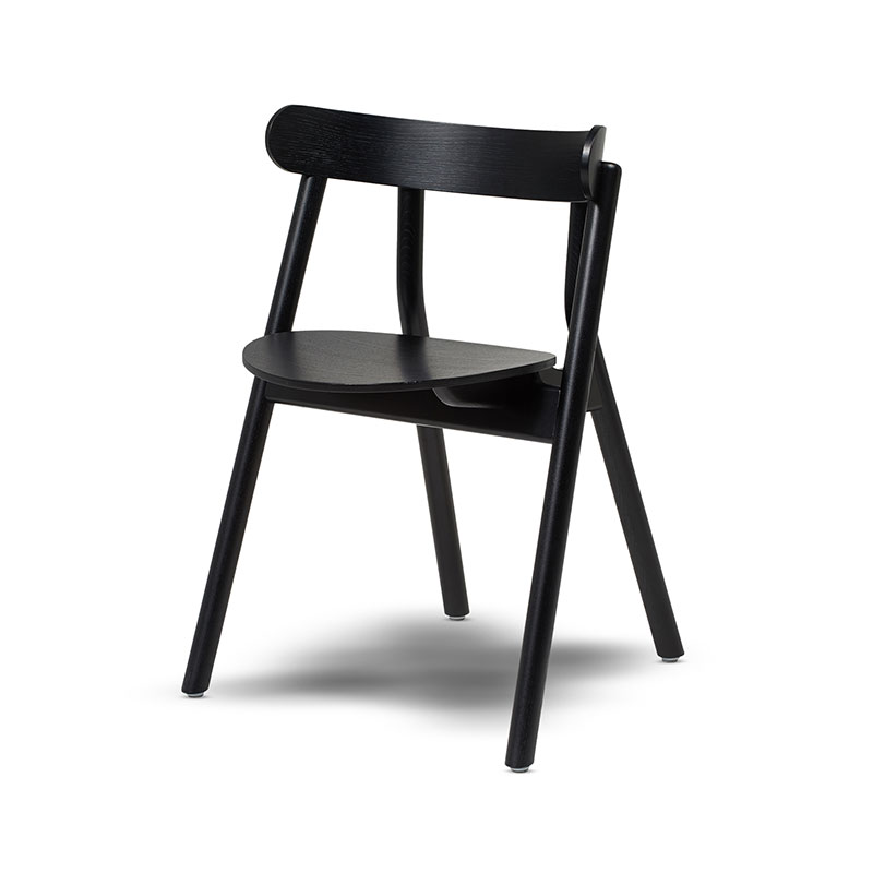 Northern Oaki Dining Chair by Stine Aas Olson and Baker - Designer & Contemporary Sofas, Furniture - Olson and Baker showcases original designs from authentic, designer brands. Buy contemporary furniture, lighting, storage, sofas & chairs at Olson + Baker.