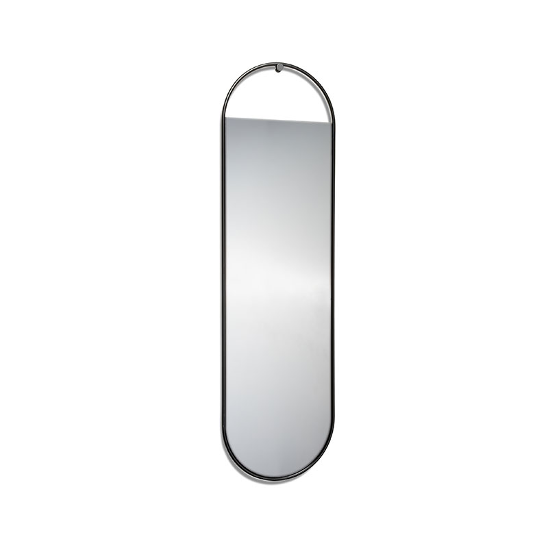 Northern Peek Large Oval Wall Mirror by Elina Ulvio Olson and Baker - Designer & Contemporary Sofas, Furniture - Olson and Baker showcases original designs from authentic, designer brands. Buy contemporary furniture, lighting, storage, sofas & chairs at Olson + Baker.