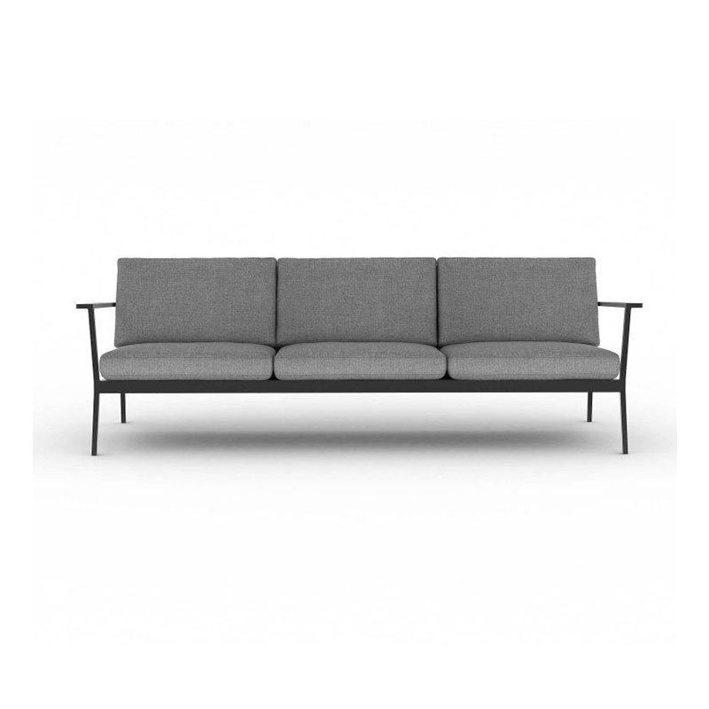 Case Furniture Eos Three Seat Sofa by Matthew Hilton Olson and Baker - Designer & Contemporary Sofas, Furniture - Olson and Baker showcases original designs from authentic, designer brands. Buy contemporary furniture, lighting, storage, sofas & chairs at Olson + Baker.