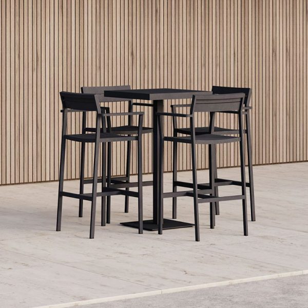 Eos 63.3x63.3cm Square Bar Dining Table