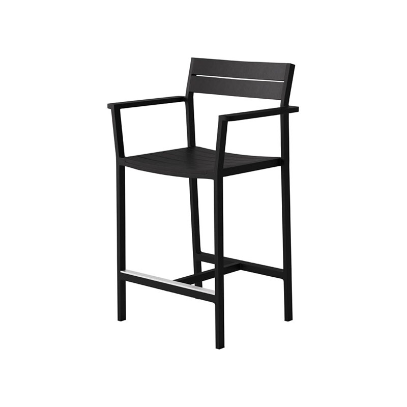 Case Furniture Eos Counter  Stool by Matthew Hilton Olson and Baker - Designer & Contemporary Sofas, Furniture - Olson and Baker showcases original designs from authentic, designer brands. Buy contemporary furniture, lighting, storage, sofas & chairs at Olson + Baker.