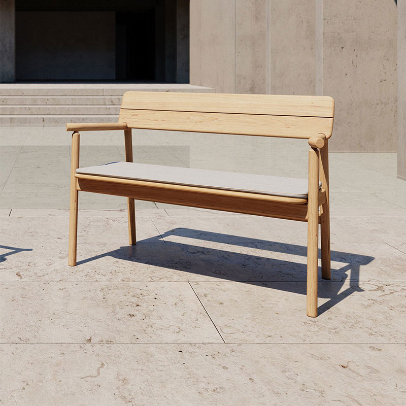 Case Furniture Tanso Bench by David Irwin Olson and Baker - Designer & Contemporary Sofas, Furniture - Olson and Baker showcases original designs from authentic, designer brands. Buy contemporary furniture, lighting, storage, sofas & chairs at Olson + Baker.