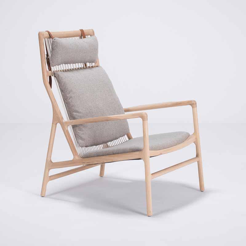 Gazzda Dedo Lounge Chair by Salih Teskeredzic Olson and Baker - Designer & Contemporary Sofas, Furniture - Olson and Baker showcases original designs from authentic, designer brands. Buy contemporary furniture, lighting, storage, sofas & chairs at Olson + Baker.