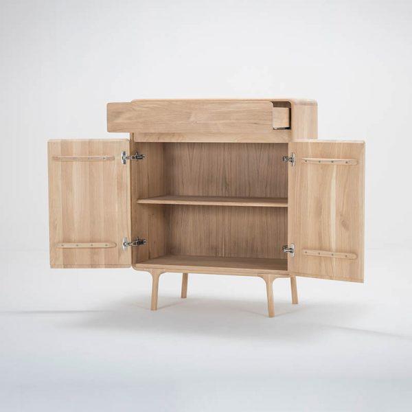 Fawn Cabinet in Solid Oak