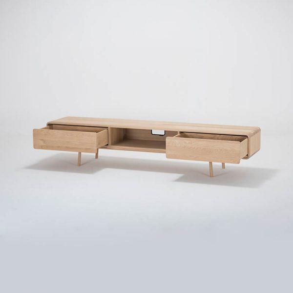 Fawn Lowboard in Solid Oak
