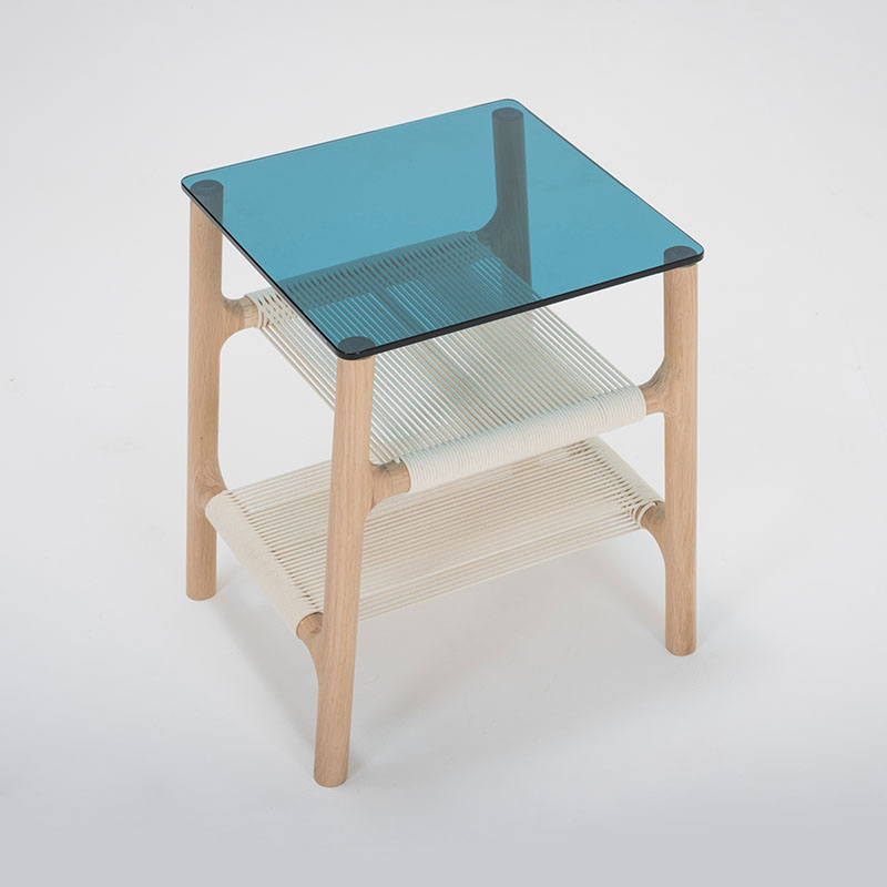 Gazzda Fawn Sidetable by Salih Teskeredzic Olson and Baker - Designer & Contemporary Sofas, Furniture - Olson and Baker showcases original designs from authentic, designer brands. Buy contemporary furniture, lighting, storage, sofas & chairs at Olson + Baker.