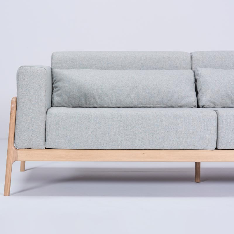 Gazzda_Fawn_Sofa_Three_Seater_by_Salih_Teskeredzic_Gazzda_-_1015_White_Solid_Oak_Oiled_with_MLF10_Newbury_Main_Line_Flax_Upholstery_02 Olson and Baker - Designer & Contemporary Sofas, Furniture - Olson and Baker showcases original designs from authentic, designer brands. Buy contemporary furniture, lighting, storage, sofas & chairs at Olson + Baker.