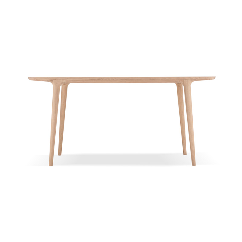 Gazzda Fawn Dining Table by Salih Teskeredzic Olson and Baker - Designer & Contemporary Sofas, Furniture - Olson and Baker showcases original designs from authentic, designer brands. Buy contemporary furniture, lighting, storage, sofas & chairs at Olson + Baker.