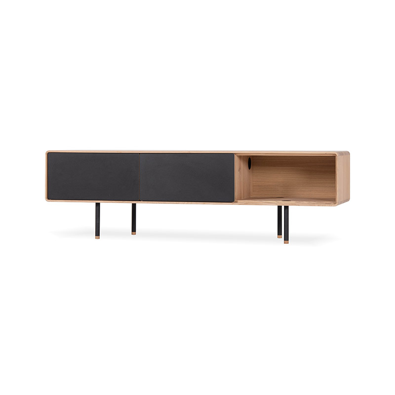 Gazzda Fina Lowboard by Mustafa Cohadzic Olson and Baker - Designer & Contemporary Sofas, Furniture - Olson and Baker showcases original designs from authentic, designer brands. Buy contemporary furniture, lighting, storage, sofas & chairs at Olson + Baker.