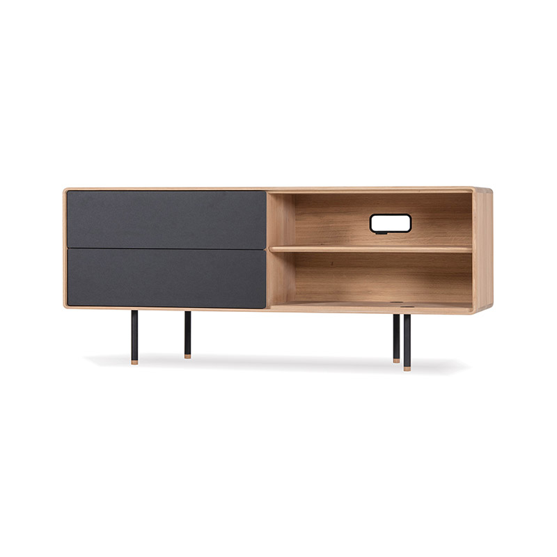 Gazzda Fina Sideboard by Mustafa Cohadzic Olson and Baker - Designer & Contemporary Sofas, Furniture - Olson and Baker showcases original designs from authentic, designer brands. Buy contemporary furniture, lighting, storage, sofas & chairs at Olson + Baker.