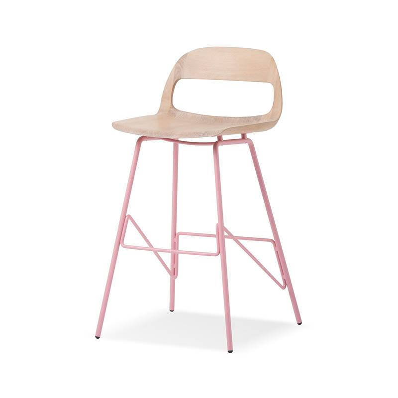 Gazzda Leina High Bar Stool by Mustafa Cohadzic Olson and Baker - Designer & Contemporary Sofas, Furniture - Olson and Baker showcases original designs from authentic, designer brands. Buy contemporary furniture, lighting, storage, sofas & chairs at Olson + Baker.