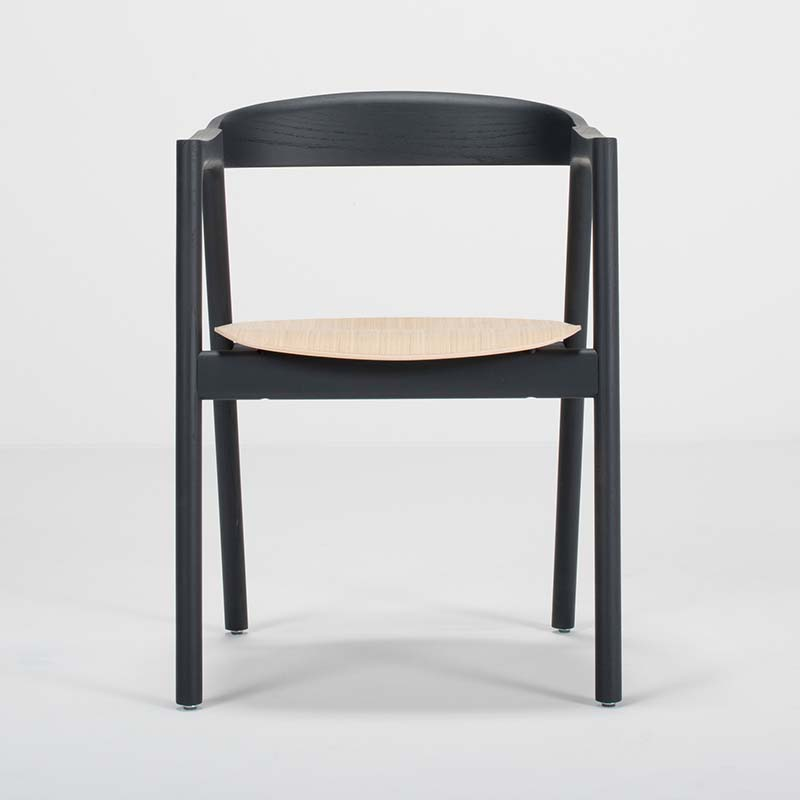 Gazzda Muna Chair by Salih Teskeredzic Olson and Baker - Designer & Contemporary Sofas, Furniture - Olson and Baker showcases original designs from authentic, designer brands. Buy contemporary furniture, lighting, storage, sofas & chairs at Olson + Baker.