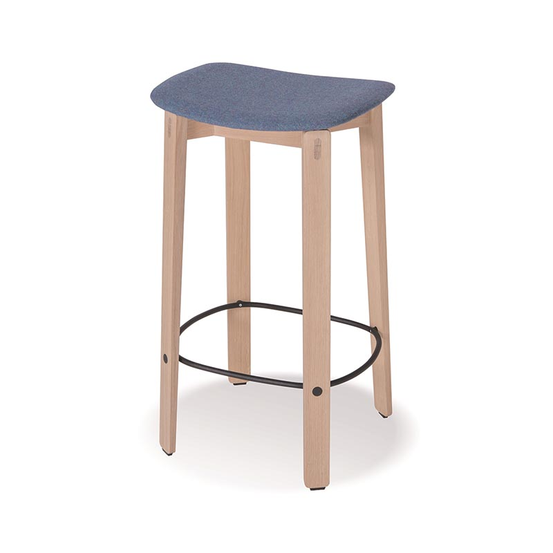 Gazzda Nora High Bar Stool by Mustafa Cohadzic Olson and Baker - Designer & Contemporary Sofas, Furniture - Olson and Baker showcases original designs from authentic, designer brands. Buy contemporary furniture, lighting, storage, sofas & chairs at Olson + Baker.