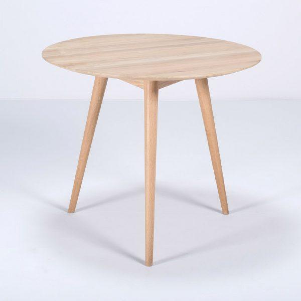 Stafa Round Table in Solid Oak
